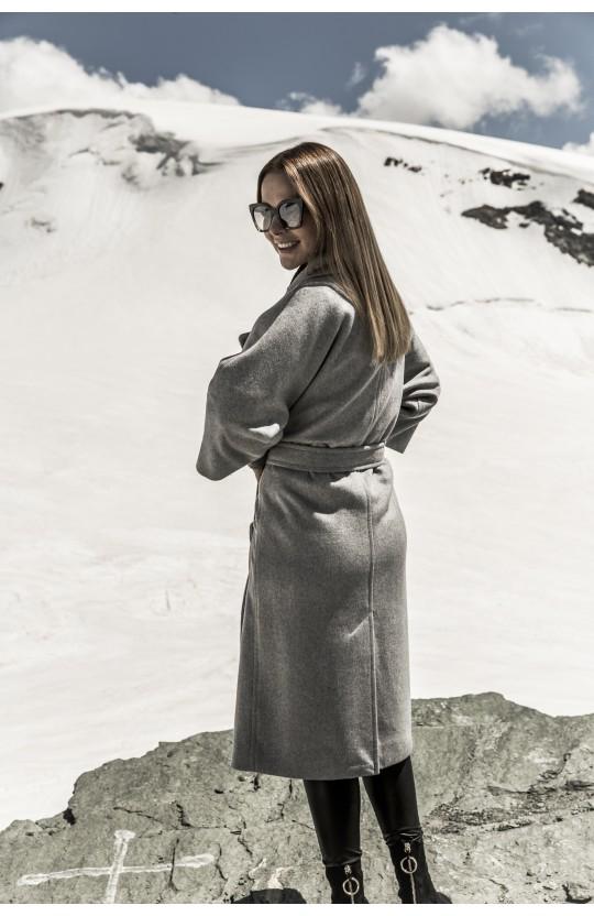 Płaszcz zimowy, jasnoszary, 267