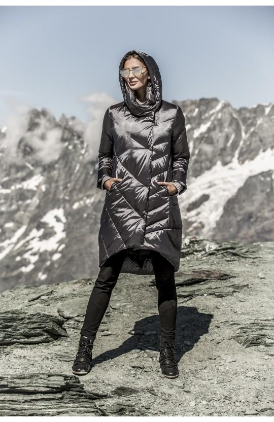 Kurtka zimowa w kolorze ciemnoszarym, 251