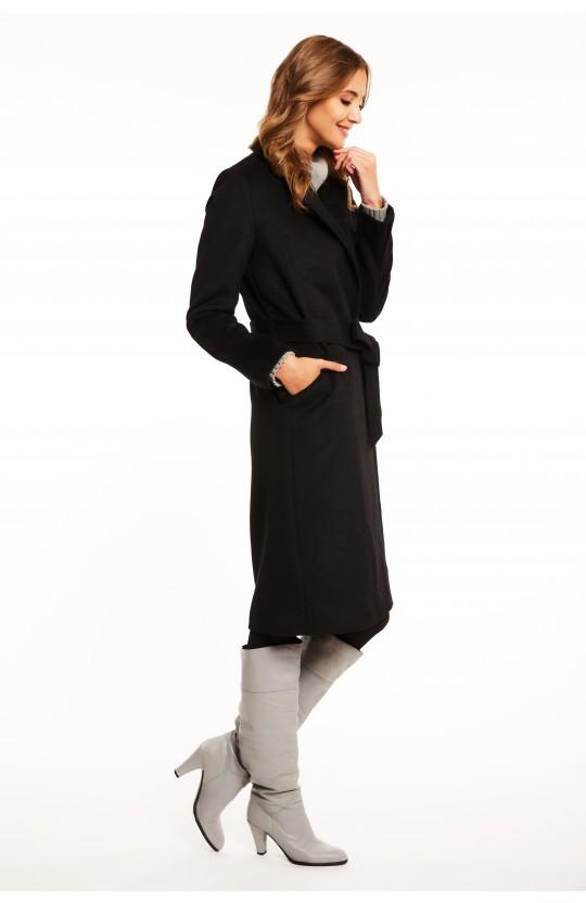 Płaszcz zimowy czarny, 266