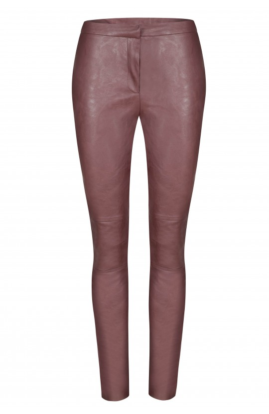 Spodnie w kolorze brązowym, 701