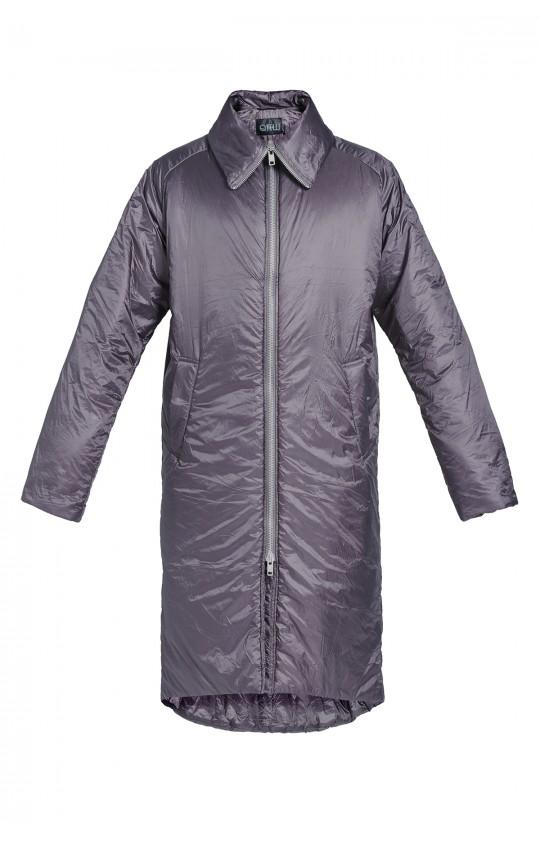 Długi Płaszcz Kupisza x Tiffi, w kolorze  szarym, unisex