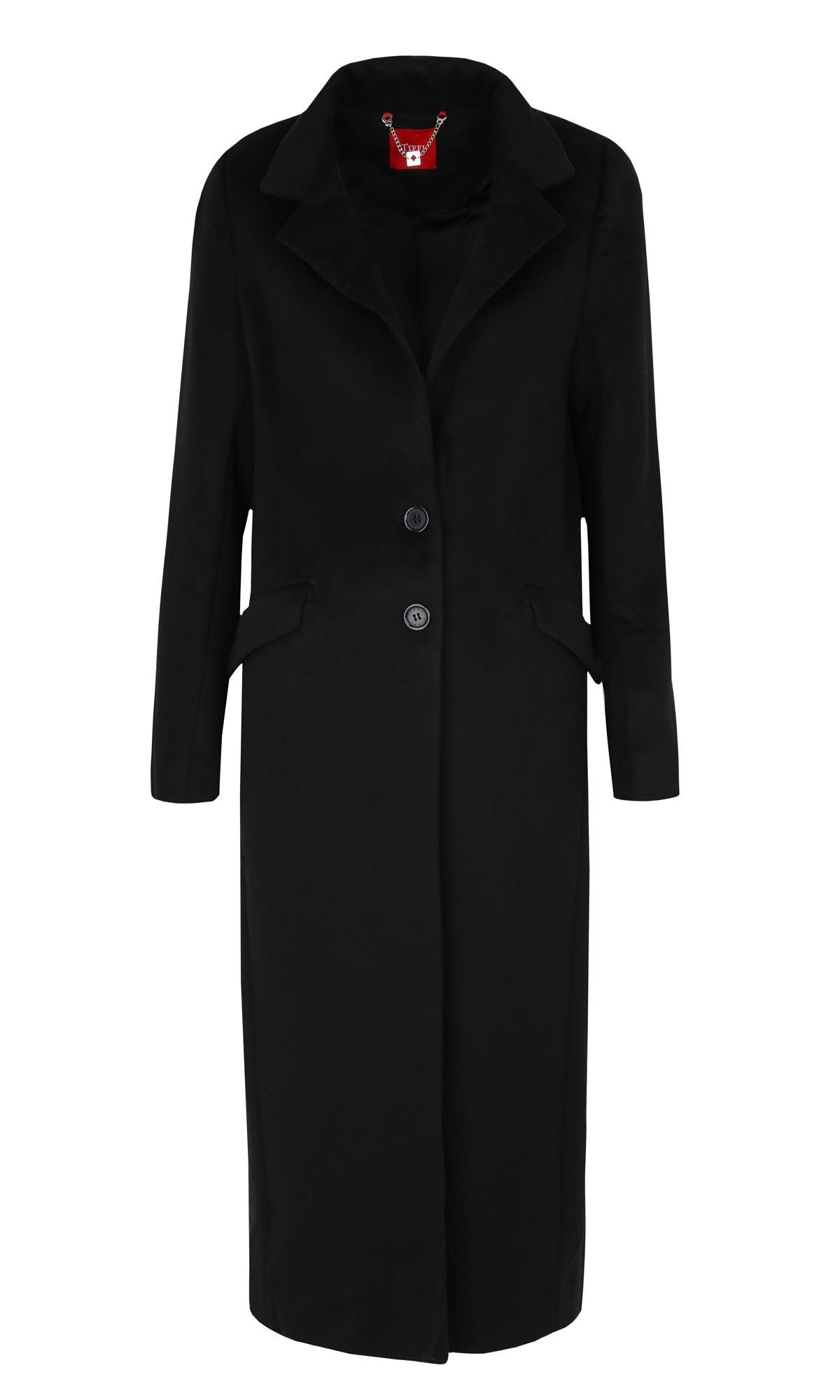 Eleganckie długie płaszcze zimowe damskie Kurtki i